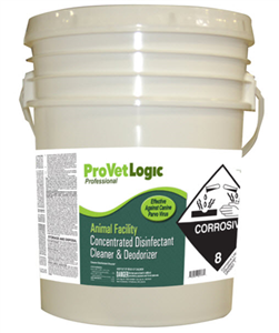 Kennel Kare Floor Cleaner/Deodorizer - Wall Dispense 0.5 Gallon C2 By Provetlogi