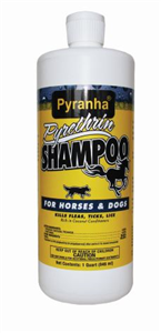 Pyranha Pyrethrin Shampoo For Horses And Dogs QT. By Pyranha