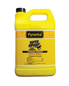Pyranha Wipe N Spray Oil Based - Gallon Gal By Pyranha