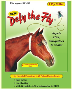 Defy Fly Horse Collar Each By R&R Group LLC