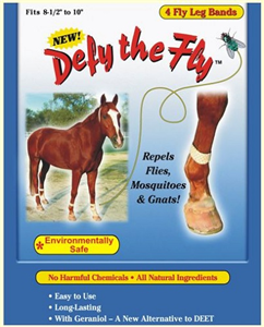 Defy Fly Leg Band For Horses Each By R&R Group LLC