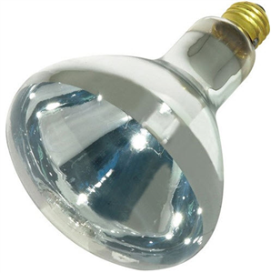 Heat Lamp Bulb 125W Clear - Phillips Medium Base Each By Satco Products