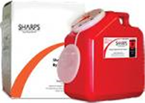 Sharps Mailback Collection And Disposal System - Usps (1) 2-Gallon Each By Sharp