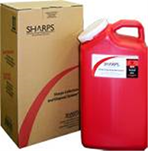 Sharps Mailback Collection And Disposal System - Usps (1) 3-Gallon Each By Sharp