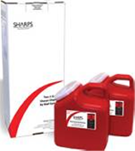 Sharps Mailback Collection And Disposal System - Usps (2) 2-Gallon B2 By Sharps
