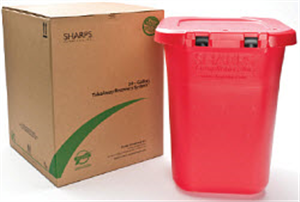 Sharps Mailback Takeaway Recovery System - Ups (1) 30 Gallon Gal By Sharps Compl