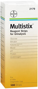 Multistix Reagent Strips B100 By Siemens Medical Solutions