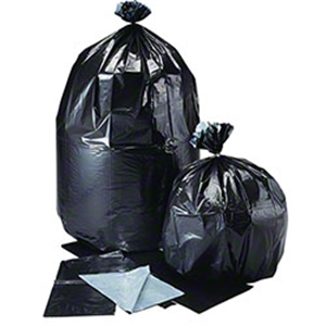 Aluf Coex Supertuff Bag 38 X58 - 100 Bags/ Roll Black & Gray Drop Ship - Allow