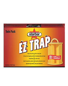 EZ Fly Trap - 2 Pack Each By Starbar