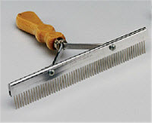 Comb Grooming Standard 9 (Wood Handle) Each By Stone