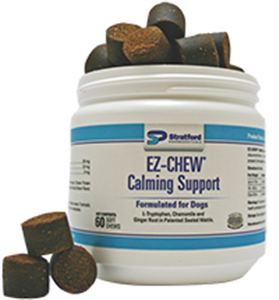 Ez-Chew Calming Support Soft Chews For Dogs Private Labeling (Sold Per Case/