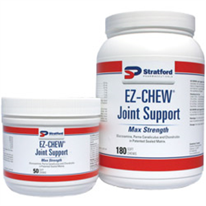 Ez-Chew Max Strength Joint Support Soft Chews W/ MSM For Dogs Private Labeling
