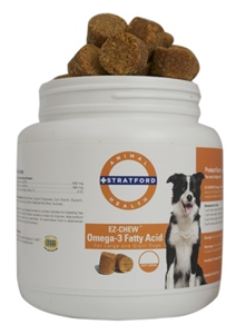 Ez-Chew Omega-3 Fatty Acid - Max Strength Soft Chews (Large & Giant Breeds) Pr