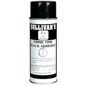 Prime Time Adhesive Black Each By Sullivan Supply