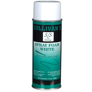 Styling Mousse Spray Foam Each By Sullivan Supply