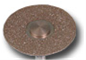 Dental Diamond Single Sided Cutting Disc .45 Mm/18 mm Dia Each By Summit Hill
