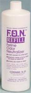Fon [Feline Odor Neutralizer] Spray Refill QT. By Summit Hill