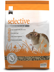 Science Selective Rat 4.6Lb 4L6 oz By Supreme Petfoods
