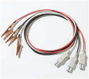 ECG Patient 3-Lead With Alligator Clips 40 Each By Surgivet