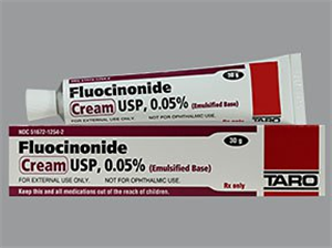 Fluocinonide Cream 0.05% 30gm By Taro Pharmaceuticals