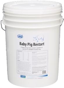 Baby Pig Restart One-4 25Lb By Tech Mix