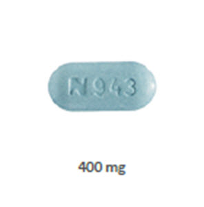 Acyclovir 400mg Tabs - Oblong B100 By Teva Pharmaceuticals