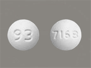 Amlodipine Tabs 10mg - Not Scored Round B90 By Teva Pharmaceuticals