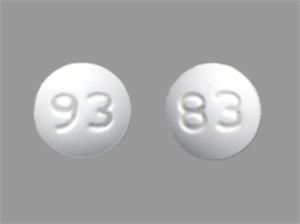 Amlodipine Tabs 2.5mg - Round B90 By Teva Pharmaceuticals