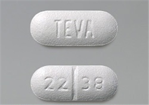 Cephalexin Tabs 250mg B100 By Teva Pharmaceuticals