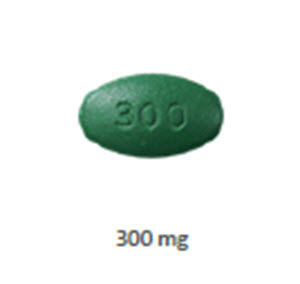 Cimetidine Tablets 300mg - Oblong B100 By Teva Pharmaceuticals