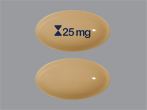 Cyclosporine Caps Modified 25mg - Nonreturnable B30 By Teva Pharmaceuticals