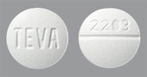 Metoclopramide Tabs 10mg B100 By Teva Pharmaceuticals