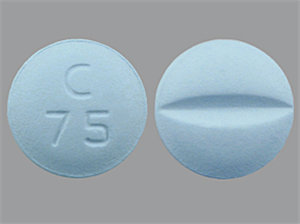 Metoprolol Tab 100mg B100 By Teva Pharmaceuticals