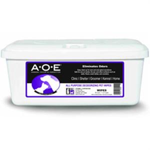 Animal Odor Eliminator Aoe Deodorizing Wipes B80 By Thornell