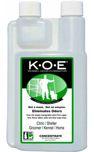 Koe (Kennel Odor Eliminator) Concentrate 16 oz By Thornell