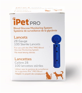 Ipet Pro Lancets 28G Bx100 By Ultimed
