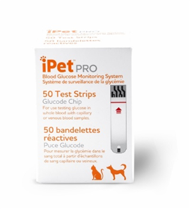 Ipet Pro Test Strips Bx50 By Ultimed