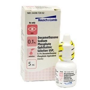 Dexamethasone Ophthalmic Solution 0.1% - (Dex Sp) 5ml By Valeant Pharmaceuticals