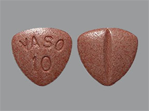 Enalapril Maleate Tabs 10mg - Scored Triangle B1000 By Valeant Pharmaceuticals I
