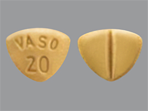 Enalapril Maleate Tabs 20mg Scored B100 By Valeant Pharmaceuticals International