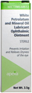 Petrolatum & Mineral Oil Ointment 3.5gm By Valeant Pharmaceuticals International