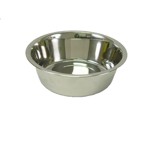 Bowl Standard Stainless Steel - 2QT. Each By Valhoma Industries
