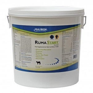 Rumastart Powder [Feed Supplement For Beef And Dairy Cattle] (4.5 Kg) Pail Each