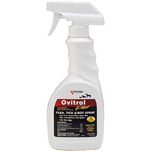 Ovitrol Plus Flea Tick & Bot Spray 16 oz By Vet Kem