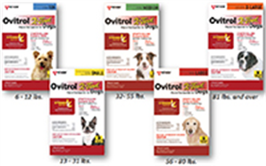 Ovitrol X-Tend Spot On For Large (56-81Lbs) Dogs P3 By Vet Kem