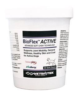 Bioflex Active Soft Chews B60 By Vetbiotek