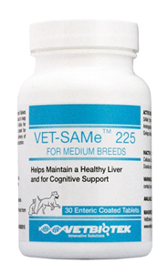 Vet Same Enteric Tabs 225mg B30 By Vetbiotek