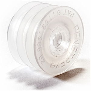 Self-Sealing Bottle Adapter (24mm Seal Safe) B100 By Viapac Packaging & Supply