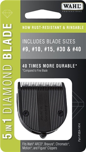 Clipper Blade Set Diamond 5 In 1 Each By Wahl Clipper Corp
