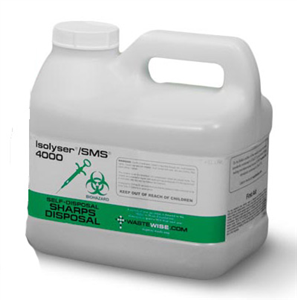 Isolyser / Sms - Onsite Sharps Treatment & Disposal 5.8L By Waste & Compliance M